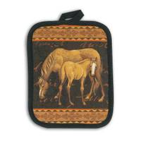 Kay Dee Designs Mare and Foal Pot Holder from Blain's Farm and Fleet