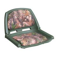 Wise Plastic Folding Boat Seat with Cushion Pads from Blain's Farm and Fleet
