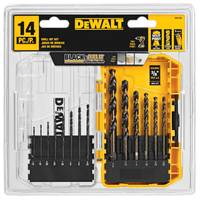 DEWALT Black Oxide Drill Bit Set from Blain's Farm and Fleet