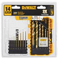DEWALT Titanium Speed Tip Drill Bit Set from Blain's Farm and Fleet