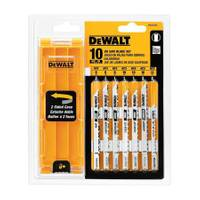 DEWALT U - Shank Jigsaw Blade Set with Case from Blain's Farm and Fleet