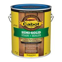 Cabot 1 Gallon Semi-Solid Deck & Siding Stain from Blain's Farm and Fleet