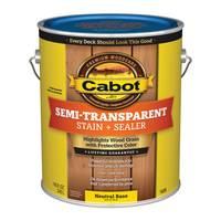Cabot 1 Gallon Semi - Transparent Deck & Siding Stain from Blain's Farm and Fleet