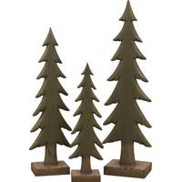 Transpac Imports Inc. Small Resin Woodland Christmas Tree from Blain's Farm and Fleet