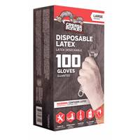 Grease Monkey 100 Count Disposable Latex Gloves from Blain's Farm and Fleet
