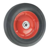 Titan Casters Offset Solid Steel Rubber Wheel from Blain's Farm and Fleet