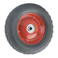 Titan Casters Offset Steel Hub Rubber Wheel from Blain's Farm and Fleet