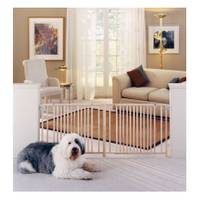 North States Industries, Inc. Extra Wide Wood Pet Gate from Blain's Farm and Fleet