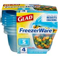 Glad FreezerWare Container from Blain's Farm and Fleet