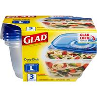 Glad Deep Dish Food Container from Blain's Farm and Fleet