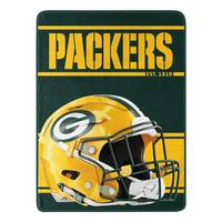 The Northwest Company Green Bay Packers Micro Fleece Roll Blanket from Blain's Farm and Fleet