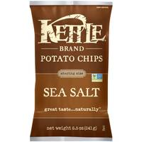 Kettle Brand Sea Salt Potato Chips from Blain's Farm and Fleet