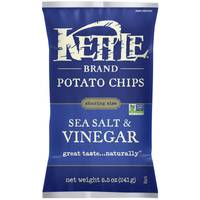 Kettle Brand Sea Salt & Vinegar Potato Chips from Blain's Farm and Fleet