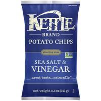 Kettle Brand Sea Salt & Vinegar Potato Chips from Blain's Farm and Fleet