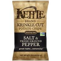 Kettle Brand Salt & Fresh Ground Pepper Krinkle Cut Potato Chips from Blain's Farm and Fleet