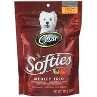 Cesar Softies Medley Bite Sized Dog Treats from Blain's Farm and Fleet