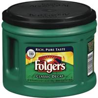 Folgers Decaffeinated Coffee Canister from Blain's Farm and Fleet