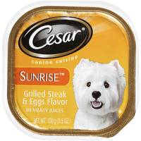 Cesar Sunrise Grilled Steak & Eggs Dog Food from Blain's Farm and Fleet