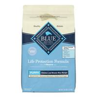 Blue Buffalo Life Protection 30 lb Chicken and Brown Rice Life Protection Formula Puppy Food from Blain's Farm and Fleet