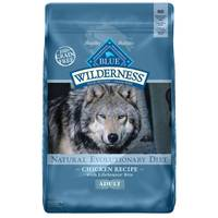 Blue Buffalo Wilderness 11 lb Grain Free Chicken Natural Evolutionary Diet Dog Food from Blain's Farm and Fleet