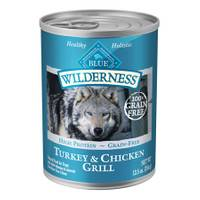 Blue Buffalo Wilderness 12.5 oz Grain Free Turkey & Chicken Grilled Dog Food from Blain's Farm and Fleet