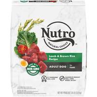 Nutro 30 lb Natural Choice Lamb & Rice Dog Food from Blain's Farm and Fleet