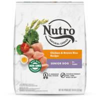 Nutro 30 lb Natural Choice Wholesome Essentials Senior Dog Food from Blain's Farm and Fleet