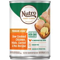 Nutro 12.5 oz Chicken / Rice / Oatmeal Adult Dog Food from Blain's Farm and Fleet