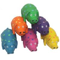 Multipet International Globets Latex Pigs Dog Toys Assortment from Blain's Farm and Fleet
