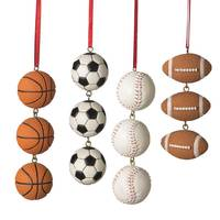 Midwest-CBK Sports Ball Swag Ornament Assortment from Blain's Farm and Fleet