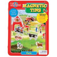 T.S. Shure Farm Magnetic Tin Playset from Blain's Farm and Fleet