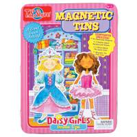 T.S. Shure Daisy Girls Dress-Ups Magnetic Tin Play Set from Blain's Farm and Fleet