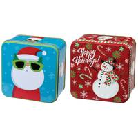 Lindy Bowman, Co. Decorative Christmas Tin Assortment from Blain's Farm and Fleet