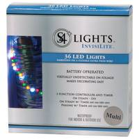 Superior Holiday Lighting Battery Operated Light Set from Blain's Farm and Fleet