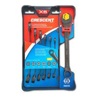 Crescent X6 Combination Wrench Set with Ratcheting Open End and Static Box from Blain's Farm and Fleet