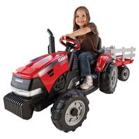 Peg Perego Case IH Magnum Tractor & Trailer from Blain's Farm and Fleet