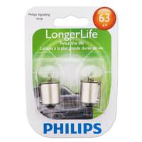 Philips Automotive Lighting 63 LongerLife Signaling Mini Light Bulbs from Blain's Farm and Fleet