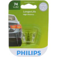 Philips Automotive Lighting 74 LongerLife Signaling Mini Light Bulbs from Blain's Farm and Fleet