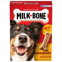 Milk-Bone Medium Dog Biscuits from Blain's Farm and Fleet