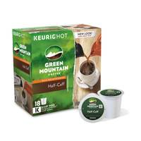 Green Mountain Coffee Half - Caff Coffee K - Cups from Blain's Farm and Fleet