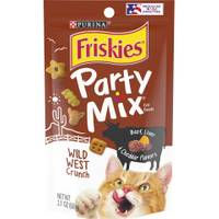 Friskies Party Mix Wild West Crunch Cat Treats from Blain's Farm and Fleet