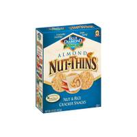 Blue Diamond Natural Nut Thins Nut & Rice Cracker Snacks from Blain's Farm and Fleet