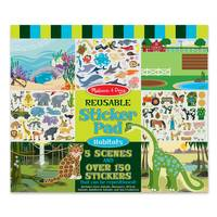 Melissa & Doug Habitats Reusable Sticker Pad from Blain's Farm and Fleet