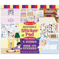 Melissa & Doug Play House! Reusable Sticker Pad from Blain's Farm and Fleet