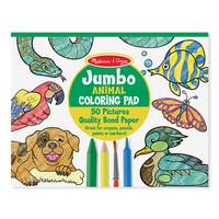 Melissa & Doug Jumbo Animals Coloring Pad from Blain's Farm and Fleet