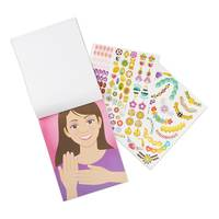 Melissa & Doug Jewelry & Nails Glitter Stickers Pad from Blain's Farm and Fleet