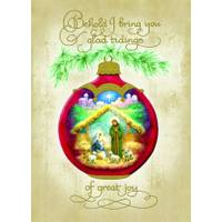 LPG Greetings Glad Tidings Foil Christmas Cards from Blain's Farm and Fleet