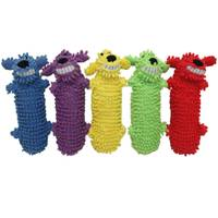 Multipet International Loofa Water Bottle Buddy Dog Toy Assortment from Blain's Farm and Fleet