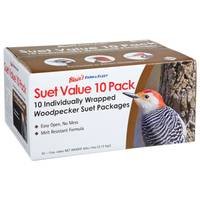Blain's Farm & Fleet 10-Pack Value Woodpecker Suet from Blain's Farm and Fleet