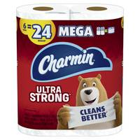 Charmin Ultra Strong Mega Roll Bathroom Tissue from Blain's Farm and Fleet